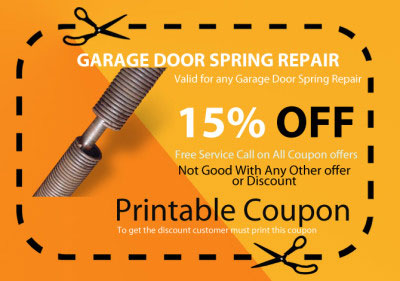 garage door spring repair